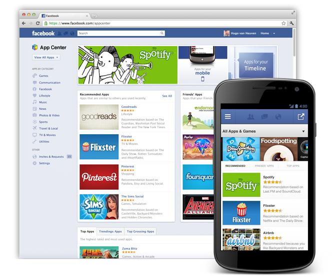Facebook creates an 'App Center' for smartphones | Glen Tylee